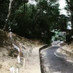 神社と計画道路